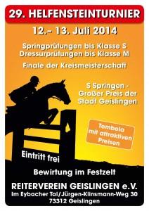 Plakat Geislingen 2014